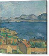 The Bay Of Marseilles Canvas Print