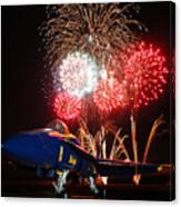 the Blue Angels US Navy    Canvas Print