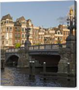 The Bridges Of Amsterdam Canvas Print
