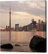 The City Of Toronto Canvas Print