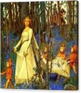 The Fairy Wood Henry Meynell Rheam Canvas Print