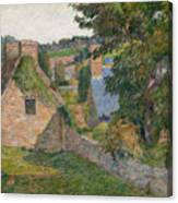 The Field Of Derout-lollichon Canvas Print