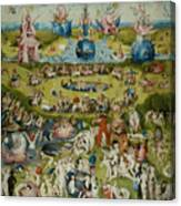 The Garden Of Earthly Delights Canvas Print