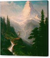 The Matterhorn Canvas Print