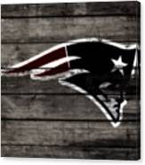 The New England Patriots 3a Canvas Print