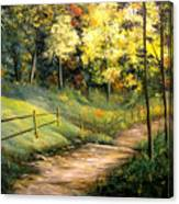 The Pathway Of Life Canvas Print