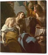 The Penitent Magdalen Canvas Print