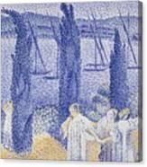 The Promenade Canvas Print