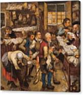 The Tax Collectors Office  Canvas Print