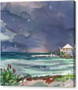 Thunderstorm Over Key West Canvas Print