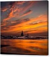 Tiscornia Beach - St. Joseph Canvas Print