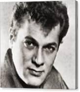 Tony Curtis, Vintage Hollywood Legend Canvas Print