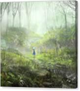 Touhou Canvas Print