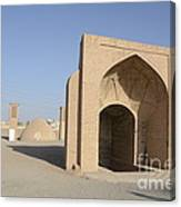 Towers Of Silence. Yazd, Iran Canvas Print