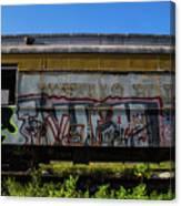 Train Art Canvas Print