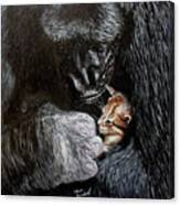 Tribute to Koko Canvas Print