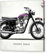 Triumph Trophy Canvas Print