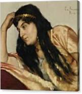 Turkish Woman Canvas Print