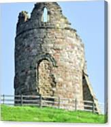 Tutbury Castle Ruins Canvas Print