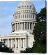 U S Capitol Canvas Print
