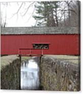 Uhlerstown Covered Bridge Canvas Print