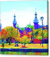 University Of Tampa Canvas Print