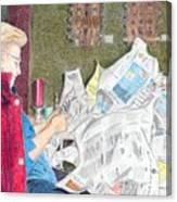 Unwrap Canvas Print
