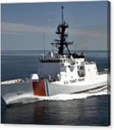 U.s. Coast Guard Cutter Waesche Canvas Print