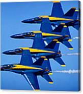 Us Navy Blue Angels Canvas Print