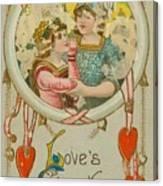 Valentine Design Six Canvas Print