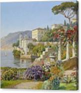 View Of A Lake In The South Canvas Print