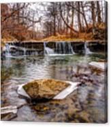 Walnut Creek Waterfall Canvas Print
