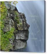 Waterfall Detail Canvas Print