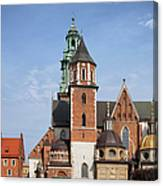 Wawel Cathedral In Krakow Canvas Print