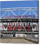 West Ham Fc Stadium London Canvas Print