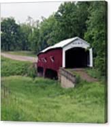 West Union Covered Bridge, Indiana Canvas Print