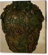 Wildflower Vase Detail Canvas Print