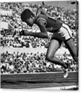 Wilma Rudolph (1940-1994) Canvas Print