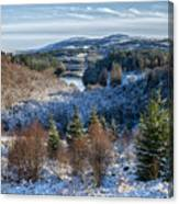 Winter Wonderland In Central Scotland Canvas Print