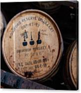Woodford Reserve Barrels Canvas Print