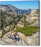 Yosemite National Park Hiking Canvas Print