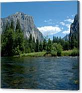 Yosemite Valley View Canvas Print