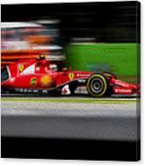 Ferrari Formula 1 Monza Canvas Print