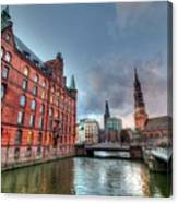 Hamburg Germany Canvas Print
