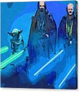 Star Wars Saga Art Canvas Print