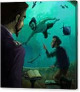 20000 Leagues Under The Sea Canvas Print