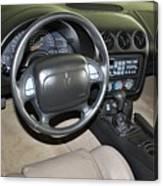 2002 Pontiac Trans Am Dashboard Canvas Print