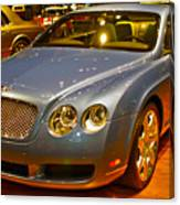 2006 Chicago 2006 Bentley Continental Gtauto Show Canvas Print