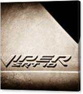 2006 Dodge Viper Srt 10 Emblem -0062s Canvas Print
