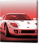 2006 Ford Production Gt Ia Canvas Print